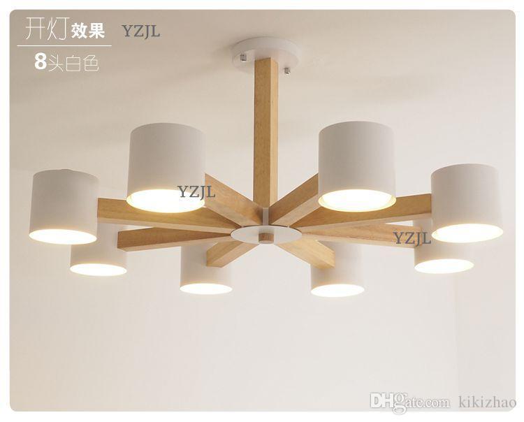 Acquista lampada lampadario luci nordiche moderno soggiorno