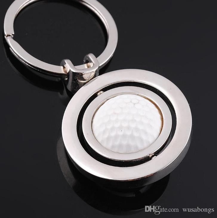 New revolving golf ball key button