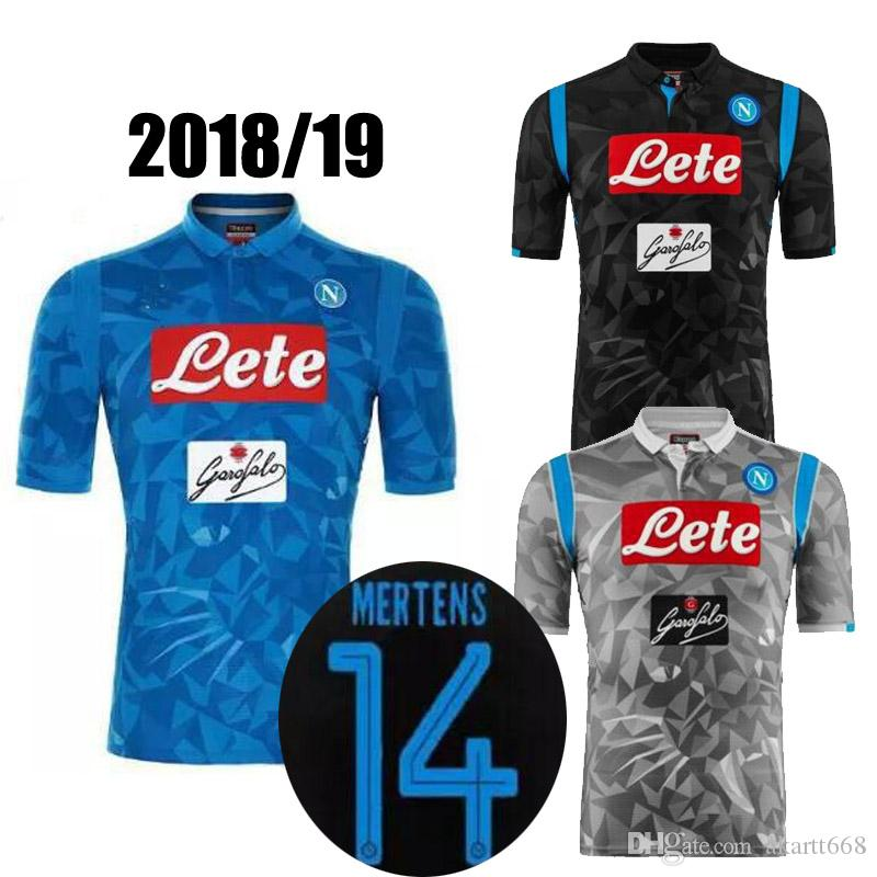 2019 2018 2019 Serie A Naples New Napoli Home Soccer Jerseys Napoli Blue  Football Jerseys Shirt For Men 18 19 HAMSIK L.INSIGNE PLAYER Shirt From  Akartt668 6b0e7d349
