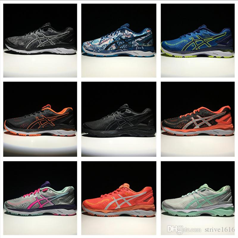 fa46ec8f65f7 2019 Asics GEL KAYANO 23 Men Women Running Shoes Top Quality Cheap Training  2018 Lightweight Walking Sport Shoes Size 4 11 From Strive1616
