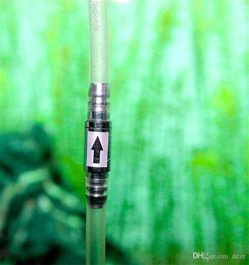 Edelstahl Aquarium Rückschlagventil CO2-Leitung 4 / 6mm Schlauchanschlüsse Luftstromventil Luftpumpe Zubehör