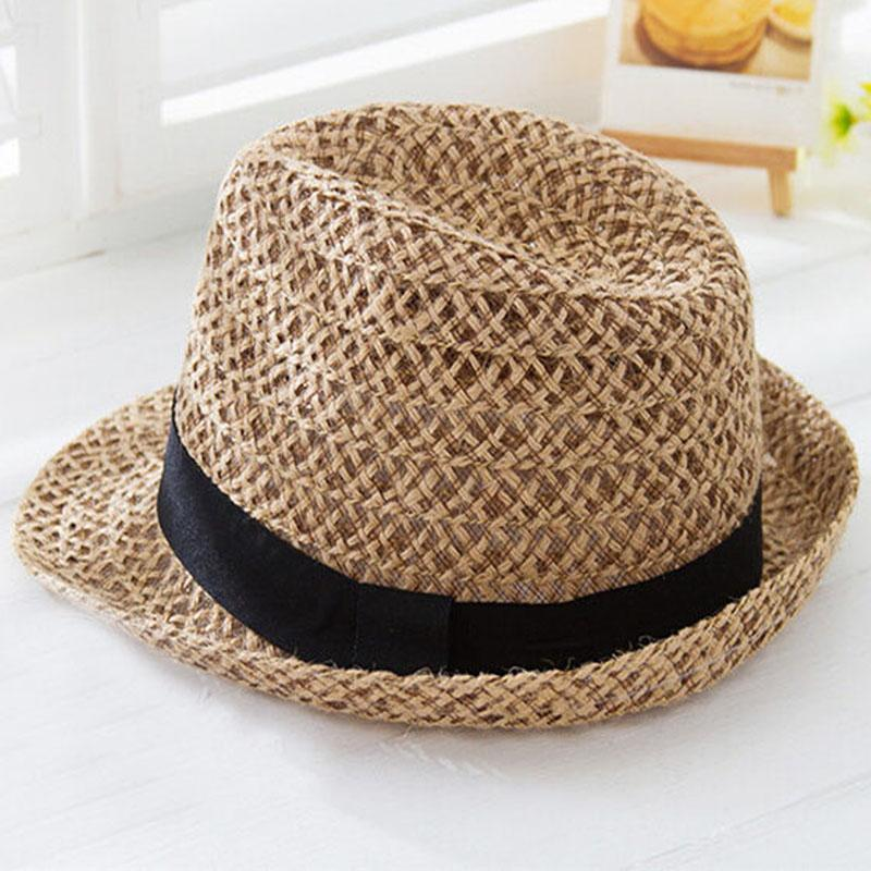 64e9549158c New Korean Lady Sunhat Hollow Cap Billycock British Jazz Hats Straw ...