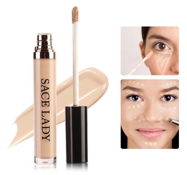 Full Cover Pro Makeup Concealer Cream Face Corrector Liquid Make Up