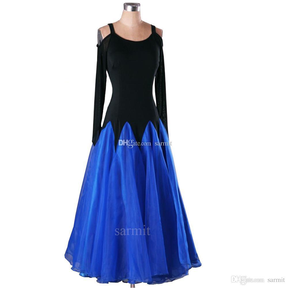 f6d60789a927 Ballroom Dance Competition Dresses Flapper Waltz Flamenco Dresses ...