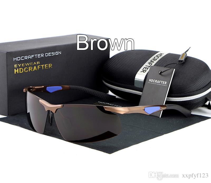 남성 운전 선글라스 좋은 quanlity 안경 안경 안경 A330 스포츠 안경 타원형 알루미늄 마그네슘 새로운 편광 선글라스