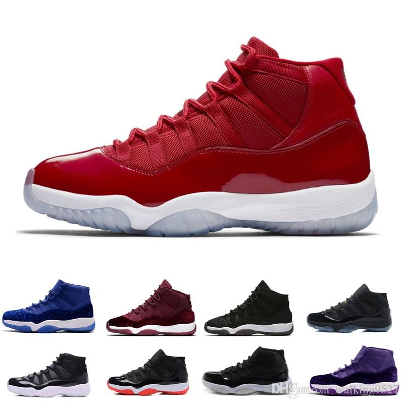 8c4486169aec 2019 11 Gym Red Chicago 11s Prom Night Concord Space Jam Legend Gamma Blue  Midnight Navy Basketball Shoes XI Bred Men Woman Sports Shoe Athletics From  ...