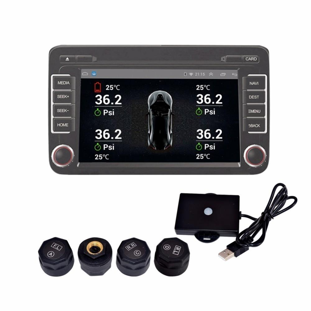 2019 Tpms For Android Car Dvd Car Tire Pressure Monitoring System