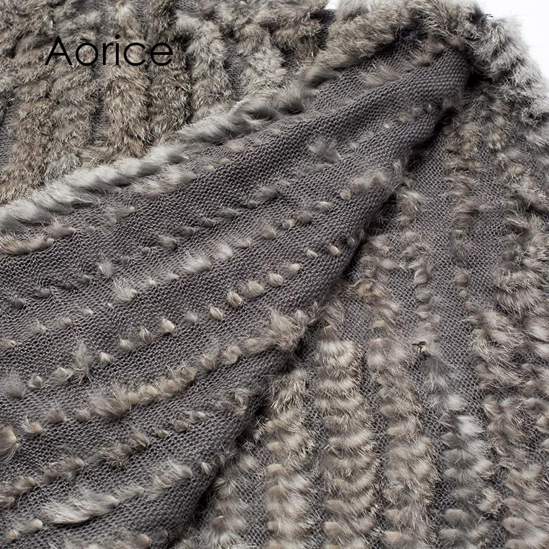 CK701 novo inverno mulheres menina poncho malha de pele de coelho xale poncho roubou shrug cape robe tippet envoltório preto branco marrom rosa cor