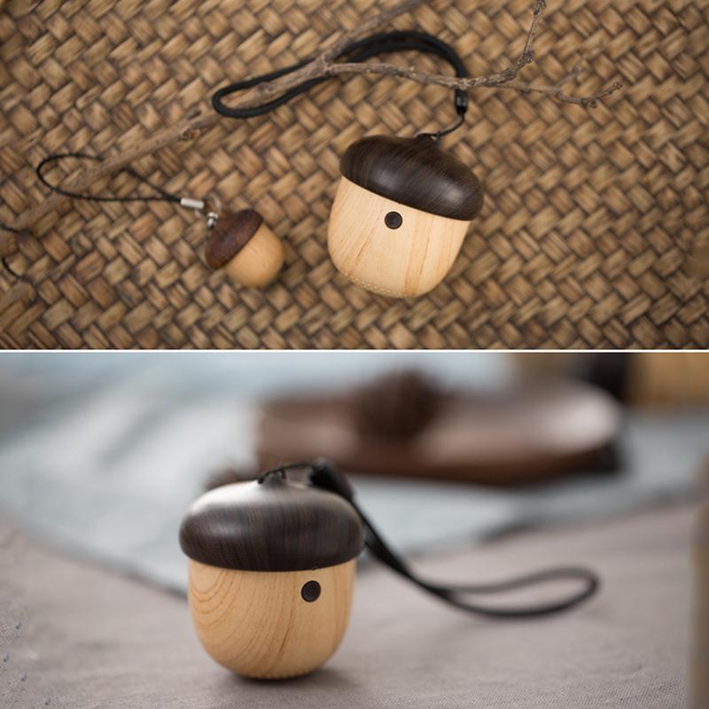 transferência de água pringting Bluetooth Speaker com forma de bolota mini pendurar everwhere com appereance única porca mini e sons maravilhosos!