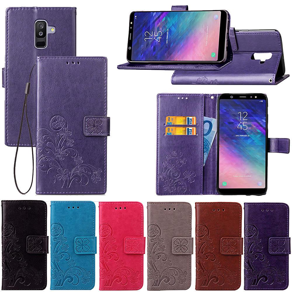 Handyvergleich Case Cover Fur Samsung Galaxy A6 Plus 2018 Mit Wallet