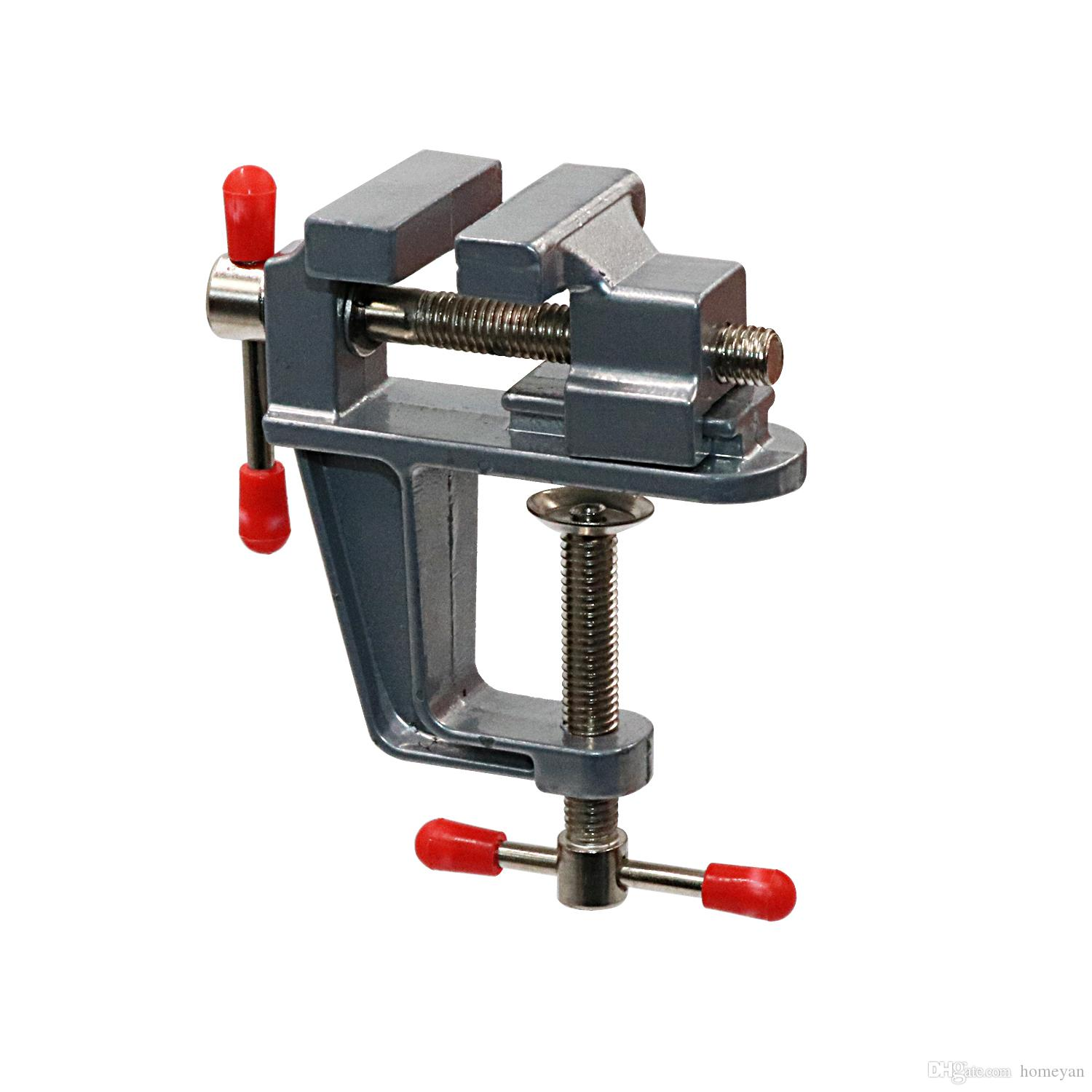 2019 Mini Table Clamp Small Bench Vice Jewelers Hobby Clamps Craft