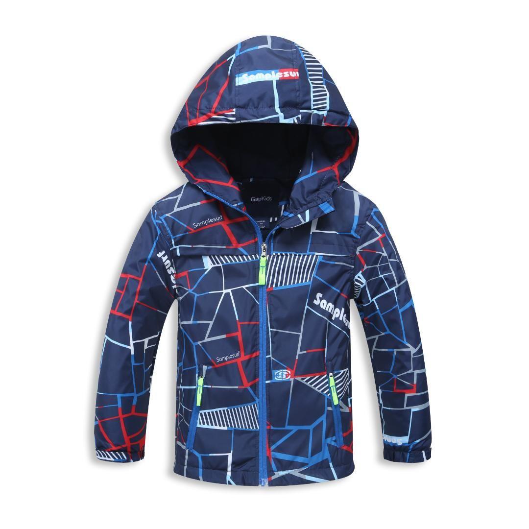 24851504b6f8 Boys Winter Trench Coats 2018 New Brand Hooded Coats Kids Winter ...