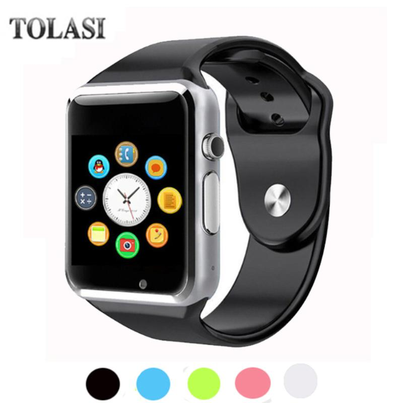 2018 TOP V1 WristWatch Bluetooth Smart Watch Sport Pedometer With SIM  Camera Smartwatch For Android Smartphone Russia A1 PK DZ09