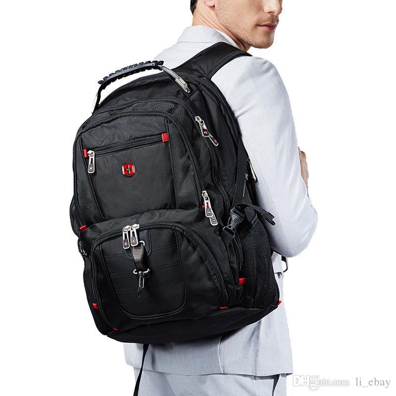 Swiss Gear Waterproof Travel Bag Laptop Backpack Computer Notebook School  Bag College Backpacks Girl Backpacks From Li ebay cddcc9878903d