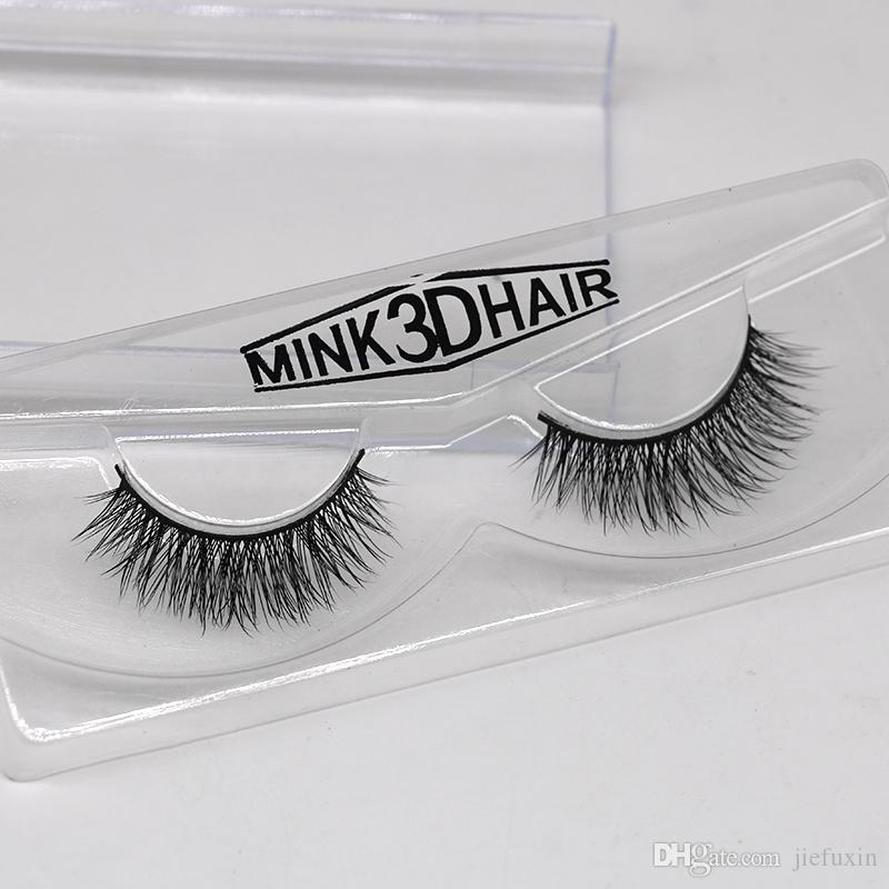 2ddaf6fdf0d Mink Lashes 3D Mink Eyelashes Invisible Band Natural Black Mink False  Eyelash Full Strip Cilios Reusable JFX F21 Eyebrow Tint Eyelash Extension  From ...