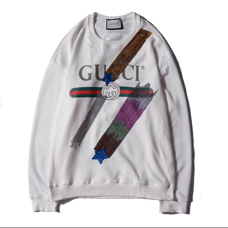 Luxus Marke Hoodie Sweatshirts Männer Designer Hoodies Tops Buchstaben Muster Gedruckt Langarm Herrenbekleidung Oansatz T Großhandel M XXL