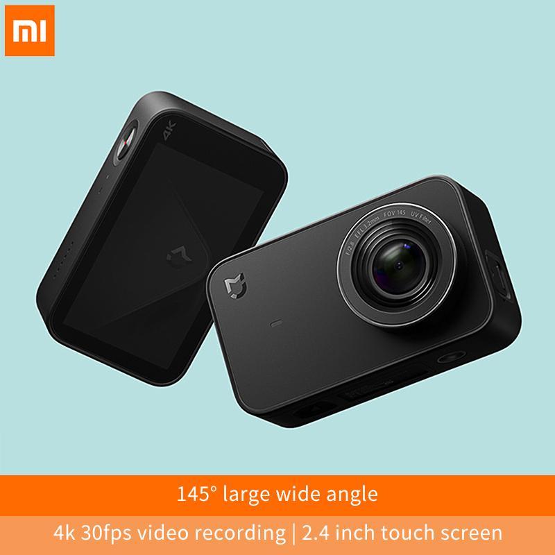 Compre Atacado Mijia Mini Câmera 4K 30fps Gravação De Vídeo 145 Ângulo 2.4  Polegadas Tela De Toque 6 Eixos EIS Esporte Ação Wifi Bluetooth Portátil De  ... c0261318c2