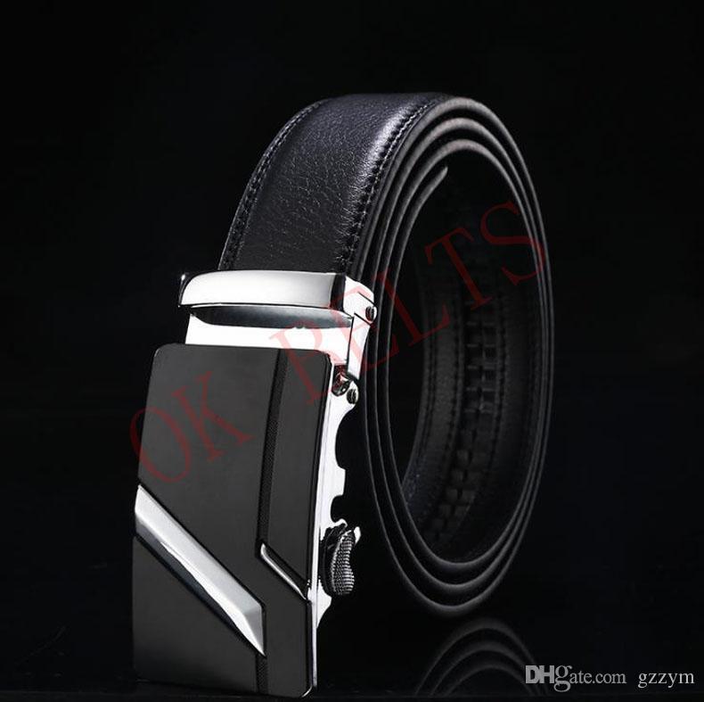 New Designer Leather Belts Men High Quality Mens Belts Ceinture Homme Cinturones Hombre Cinto Luxury Waistband 3.5cm Width Aa4142