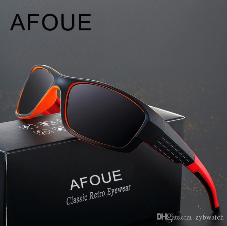 2a3e3d57345 Brand Design Anti Glare Goggles Eyeglasses Polarized Sunglasses Yellow Lens  Night Vision Driving Glasses Men Women AF8054 Baseball Sunglasses John  Lennon ...