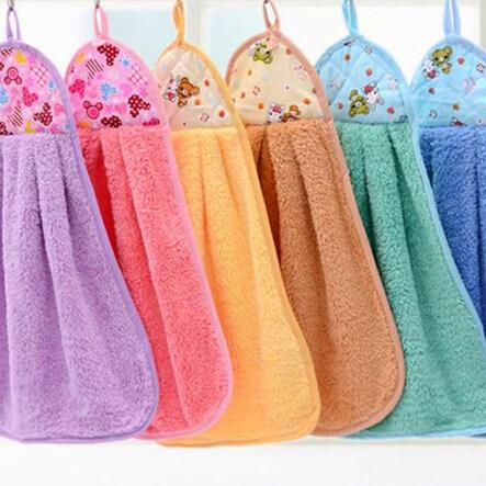 bath towels hanging throughout 33 48 cm quick dry wipe hand towel hanging wash bath towels cartoon kids cleaning teal turquoise from copy03
