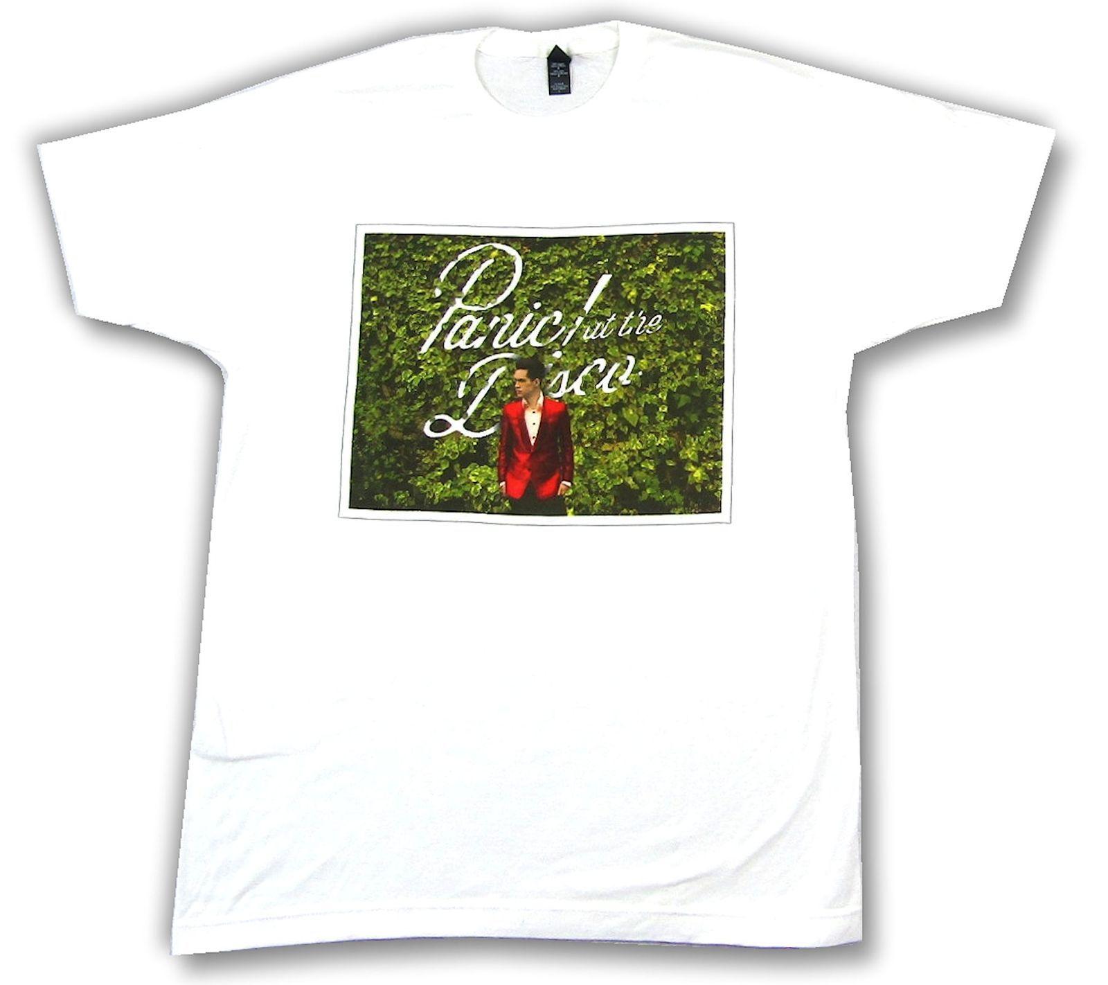 b88bb06c Panic At The Disco Bush Photo Brendan White T Shirt New Official Band Merch  Design Shirt Formal Shirt From Mandadi, $11.22| DHgate.Com