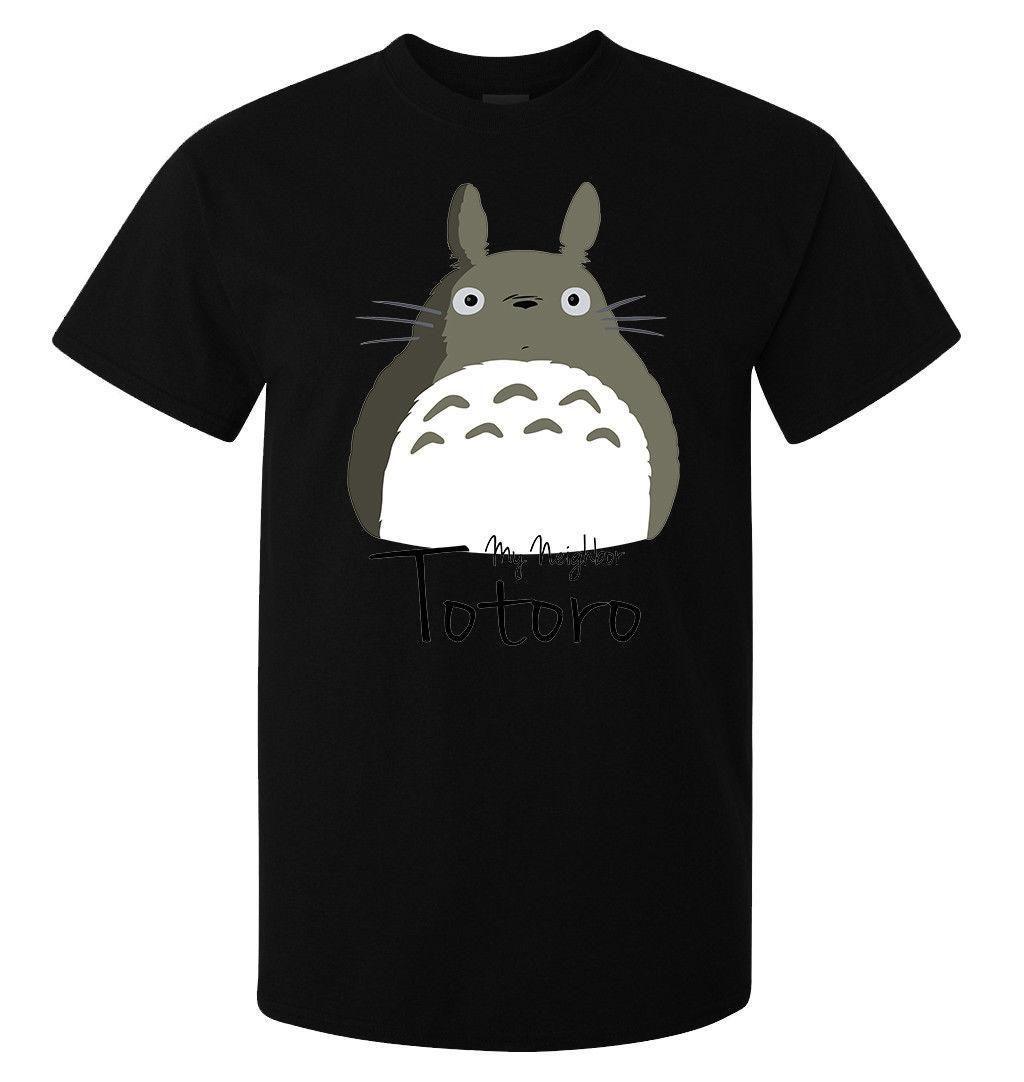 e910d5b6cc1d3 My Neighbor Totoro Cute Grey Art Stylish Men'S Woman'S Available T Shirt  Black Cotton Shirt Tee Shirts Online From Amesion34, $12.08| DHgate.Com