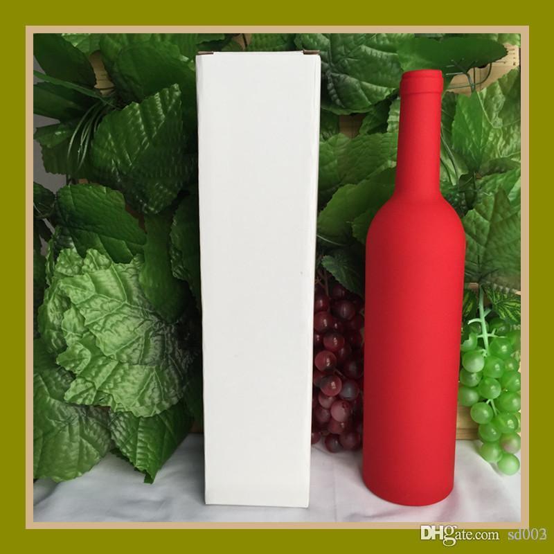 5 шт Вино Форма бутылки открывалки Практическая Мультитулы Штопор Новый Подарки для отцов день с Box Кухонные аксессуары 16 8FH ZZ