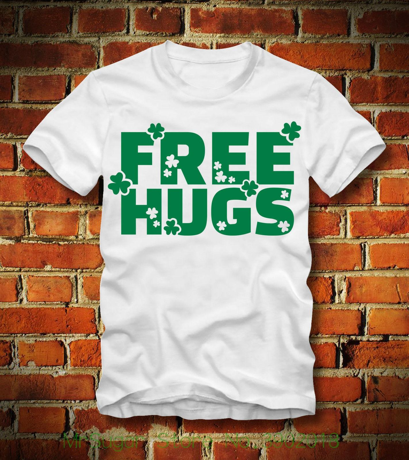 993598a9bd4 Boardrippaz T Shirt Free Hugs St. Patricks Day Irland Ireland Kleeblatt  Shamrock T Shirt Gift More Size And Colors Online with  18.15 Piece on ...