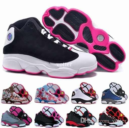buy popular a5ba3 0ec51 Acquista Moda 13 XIII Scarpe Da Basket Donna, Donna Di Alta Qualità 13s Athletic  Sport Basket Ball Womens Sneakers Scarpe Da Ginnastica Taglia 36 40 A  89.9  ...