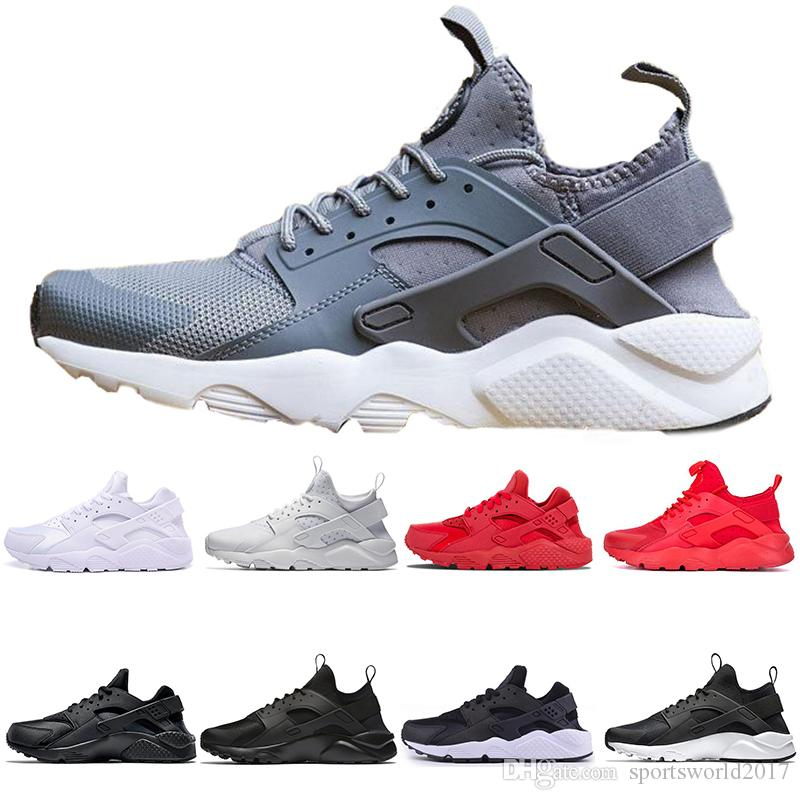 adce5eef3e78 2019 New Designer Huarache Ultra Run Running Shoes For Men Women 4.0 1.0  White Black Red Sneakers Trainers Athletic Men Sports Shoes Chaussure From  ...