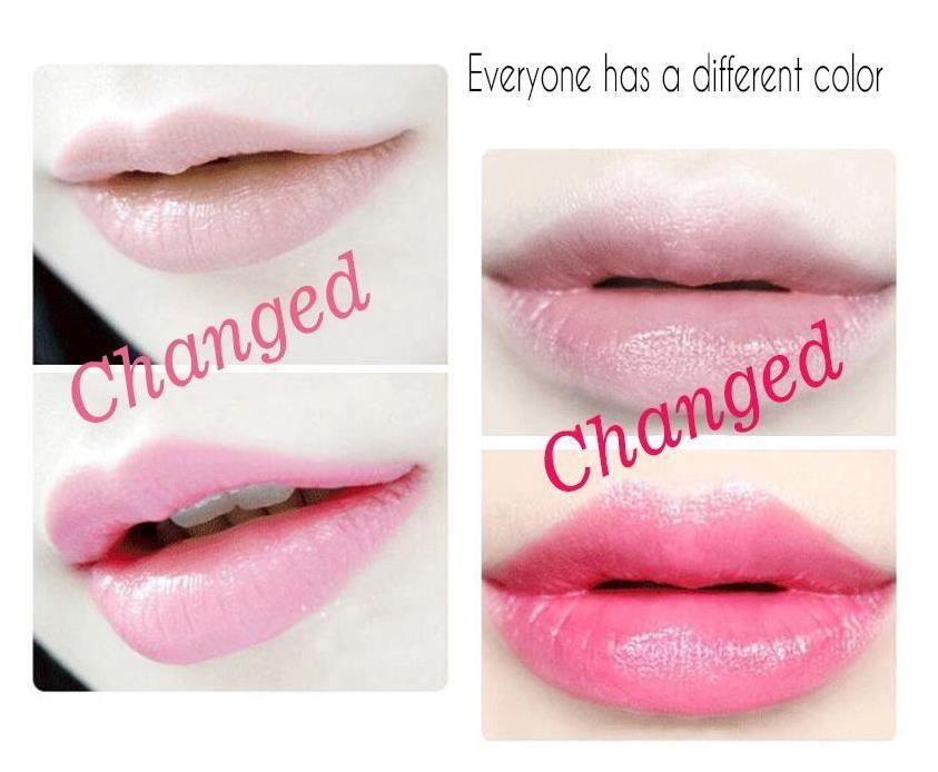 HIGH QUANLITY Long Lasting Moisturizer Transparents Flower Lipstick Cosmetics Waterproof Temperature Change Color Jelly Lipstick Balm A241