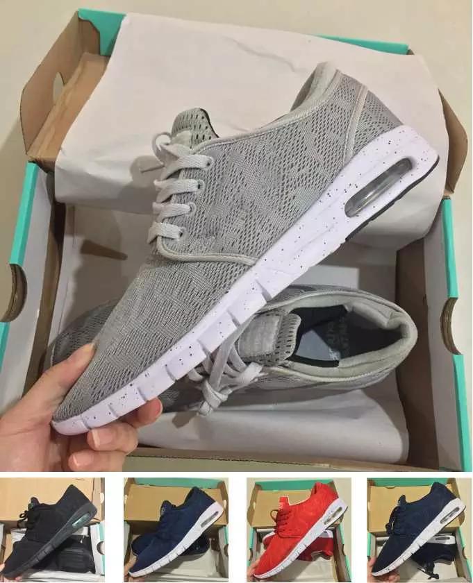 on sale 272d9 287ad Acheter 2018 Nike Sb Stefan Janoski Max Airmax Airmaxs N10a Wholsale  Chaussures Décontractées Designer Baskets Meilleures Chaussures De Luxe  Haut New ...