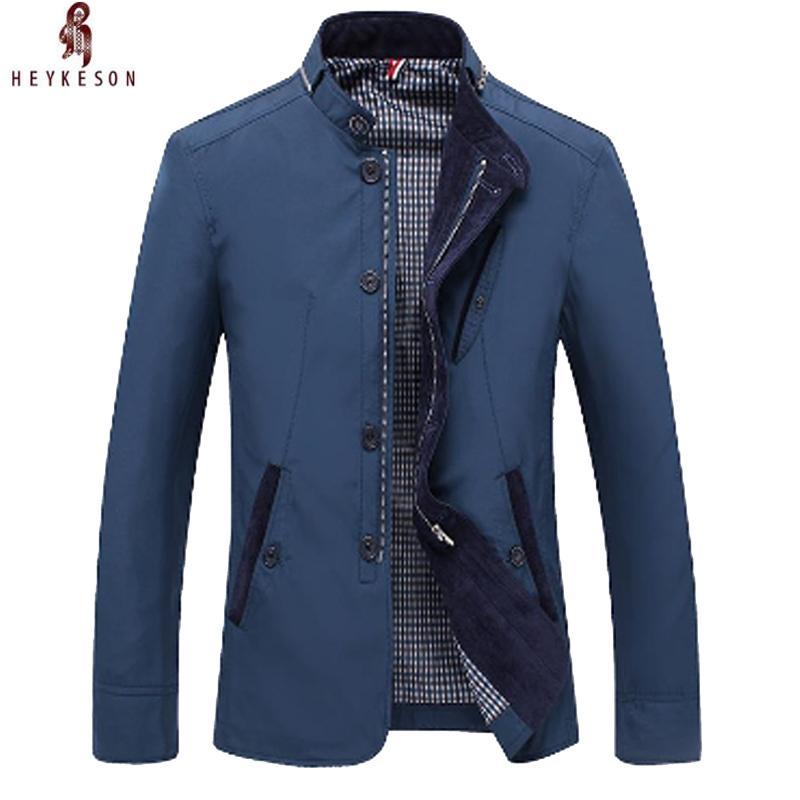 newest 3bf13 7f3aa 2018-heykeosn-hombres-chaqueta-chaqueta-de.jpg