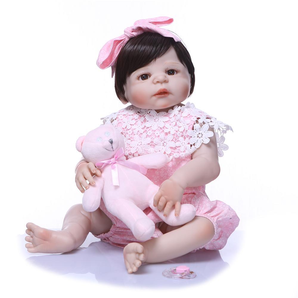 e400ee208ec78 Acheter Le Nouveau Design 55 Cm Poupée En Silicone Bebely Reborn Bébé Jouet  Pour Bébé Réaliste Bébé Nouveau Né Lol Poupée Cadeau D anniversaire Pour  Enfant ...