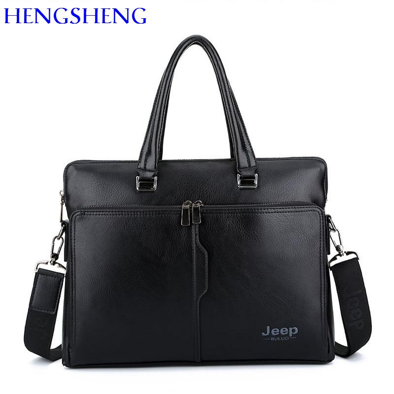 3bd9196ce3f European Leather Laptop Men Briefcase With Top Quality Pu Leather Business  Briefcase For Wholesale Men Handbag Shoulder Bags Messenger Bags Briefcase  From ...
