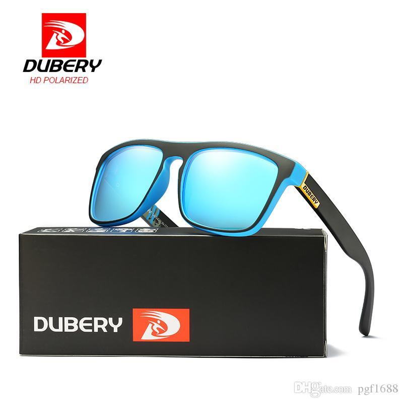 Compre DUBERY Polarized Óculos De Sol Dos Homens Condução Shades Masculino  Óculos De Sol Para Homens Retro Barato Designer De Marca De Luxo Oculos  Eyewear ... 1b9d1e1172