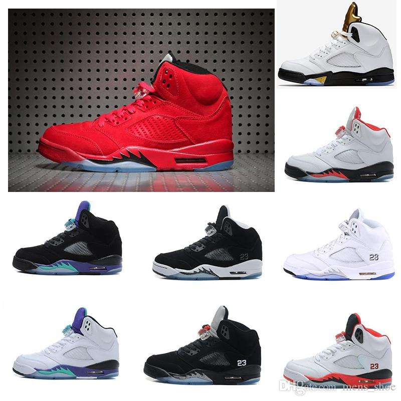 Best Fashion Style 5 V Basketball Shoes Men Trainers Shoe Wholesale