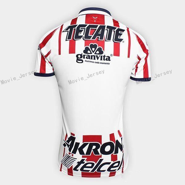 21a944ef4 2019 Guadalajara Soccer Jersey CD Chivas Men 18 19 Season 6 HERNANDEZ 17  SANCHEZ 7 PINEDA 3 SALCIDO Football Shirt Kits Make Custom From  Movie_jersey, ...