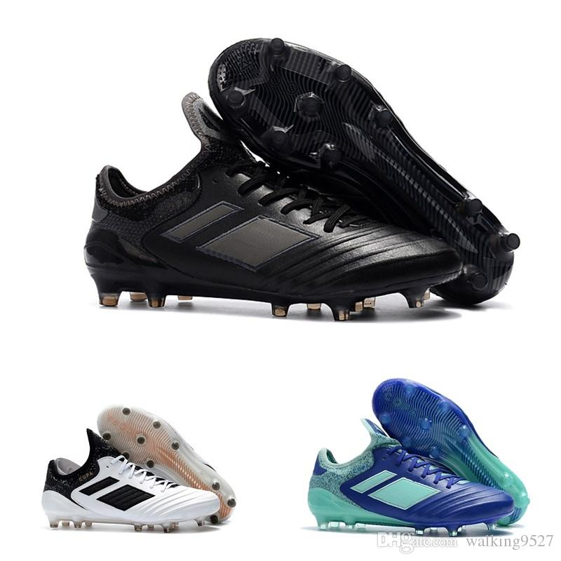 948e34f30695 2019 2018 Copa 18.1 FG Cheap Indoor Soccer Shoes Football Boots High Top Mens  Soccer Cleats From Walking9527