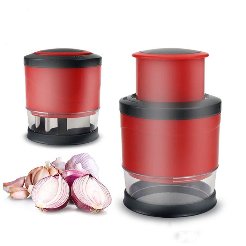 Multi Function Fruit Salad Vegetable Garlic Onion Hand Chopper Slicer Cutter Onion Mash Kitchen Tools DHL
