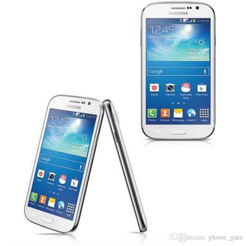 Ursprünglich überholter Samsung GALAXY Grand DUOS I9082 WCDMA 3G WIFI GPS Entsperren Dual Micro Sim-Karte 5 Zoll 1 GB / 8 GB Wifi Bluetooth-Handys