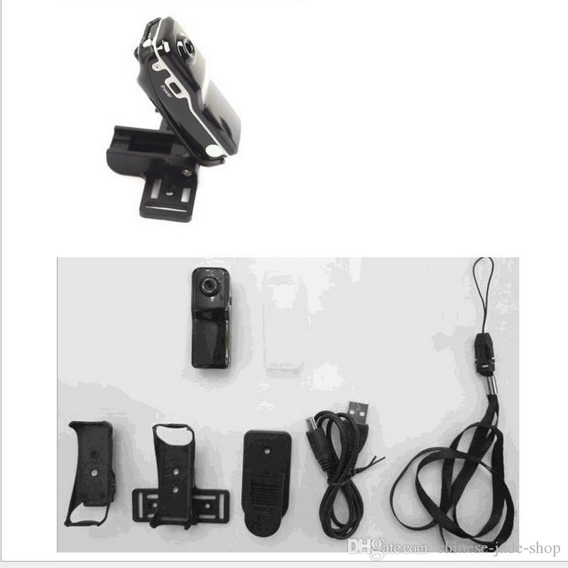 MD80 Mini DV HD 720P Deportes Acción Videocámara Digital Mini Cámara portátil Micro DVR Grabadora de Bolsillo Audio Video 20 UNIDS / LOTE