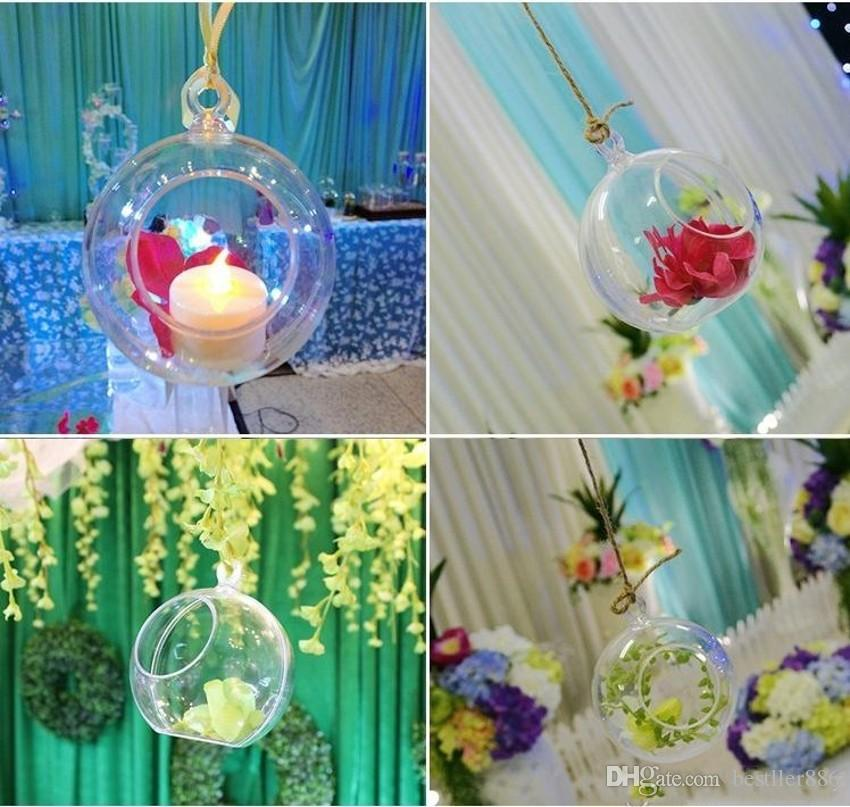 Transparent Glass Balls Christmas Tree Ornaments pendant decor Wedding Clear Ball Party Valentine's decorations DIY by yourself