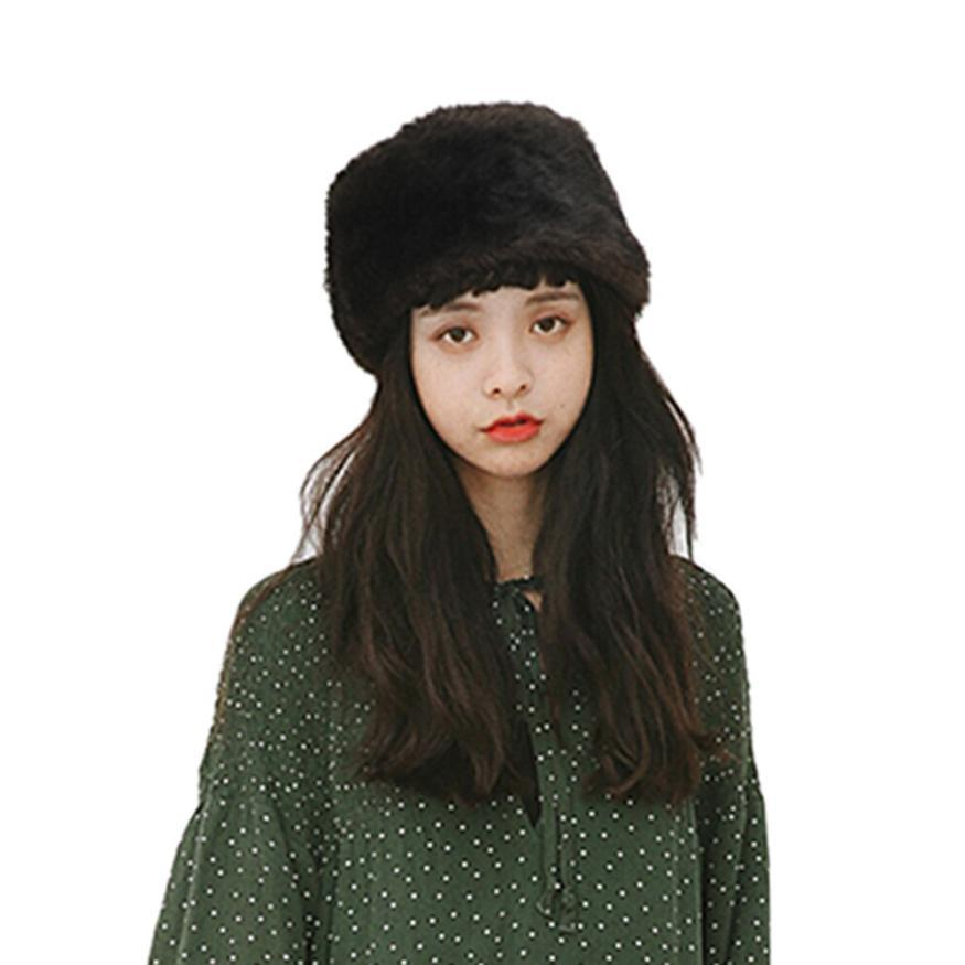 Großhandel Mode Frauen Winter Hut Halten Warme Kunstpelz ...