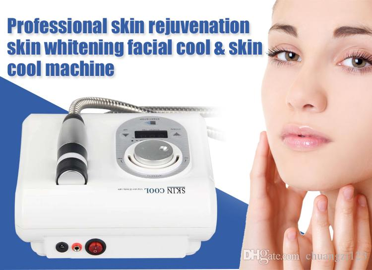 Portable Electroporation Mesoporation cryo skin cooling mesotherapy system  facial machine