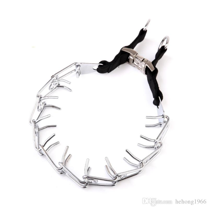 Metal Alloy Material Sturdy Dog Collars Creative Fun Design Pet Outdoor Train Props Adjustable 4.0cm*60cm Pets Ring Necklace 14 5rx2 Z
