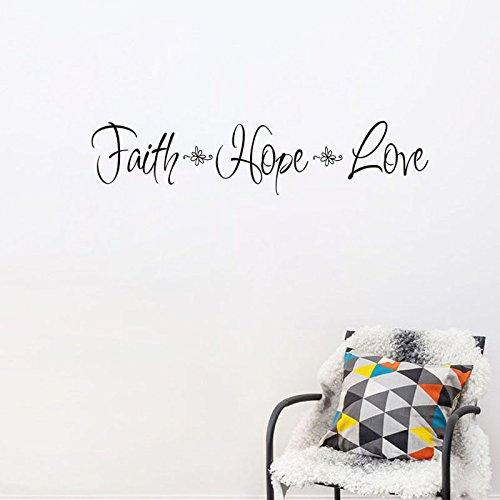 Faith Hope Love Wall Sticker Inspiring Quote Decal Decor For Home Office School Shop Quote Wall Sticker Quote Wall Stickers From Dalultd $0.81| Dhgate.Com  sc 1 st  DHgate.com & Faith Hope Love Wall Sticker Inspiring Quote Decal Decor For Home ...