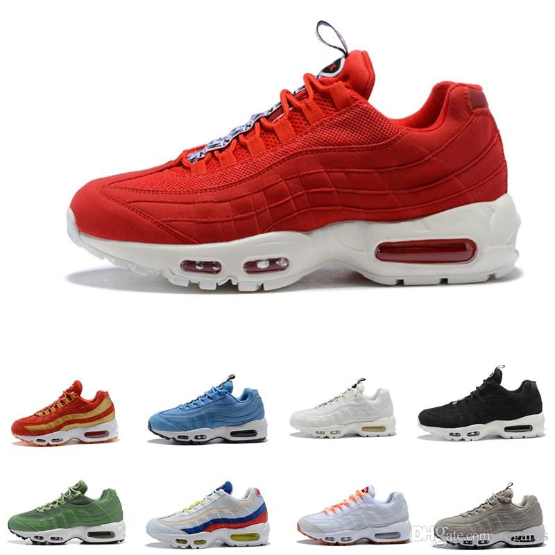 03c80fb6bda Womens Sneakers Shoes 95 Running Shoes Black Red White Sports Trainer Women  Surface Breathable Woman Sports Trainers Tennis Casual Shoes Soccer Shoes  Men ...