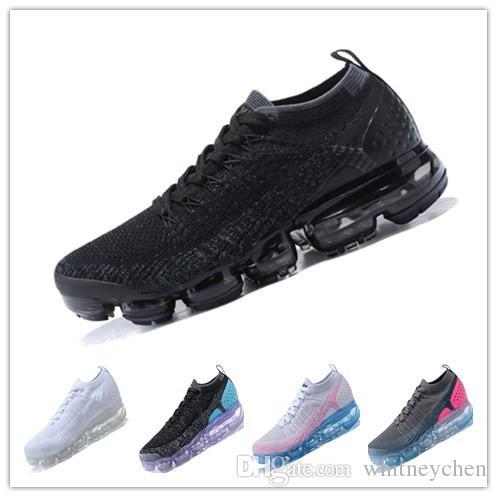 79bffd77d6118 Vapormaxes V2 FK Runner Designer Shoes Men Sport Sneakers Air ...