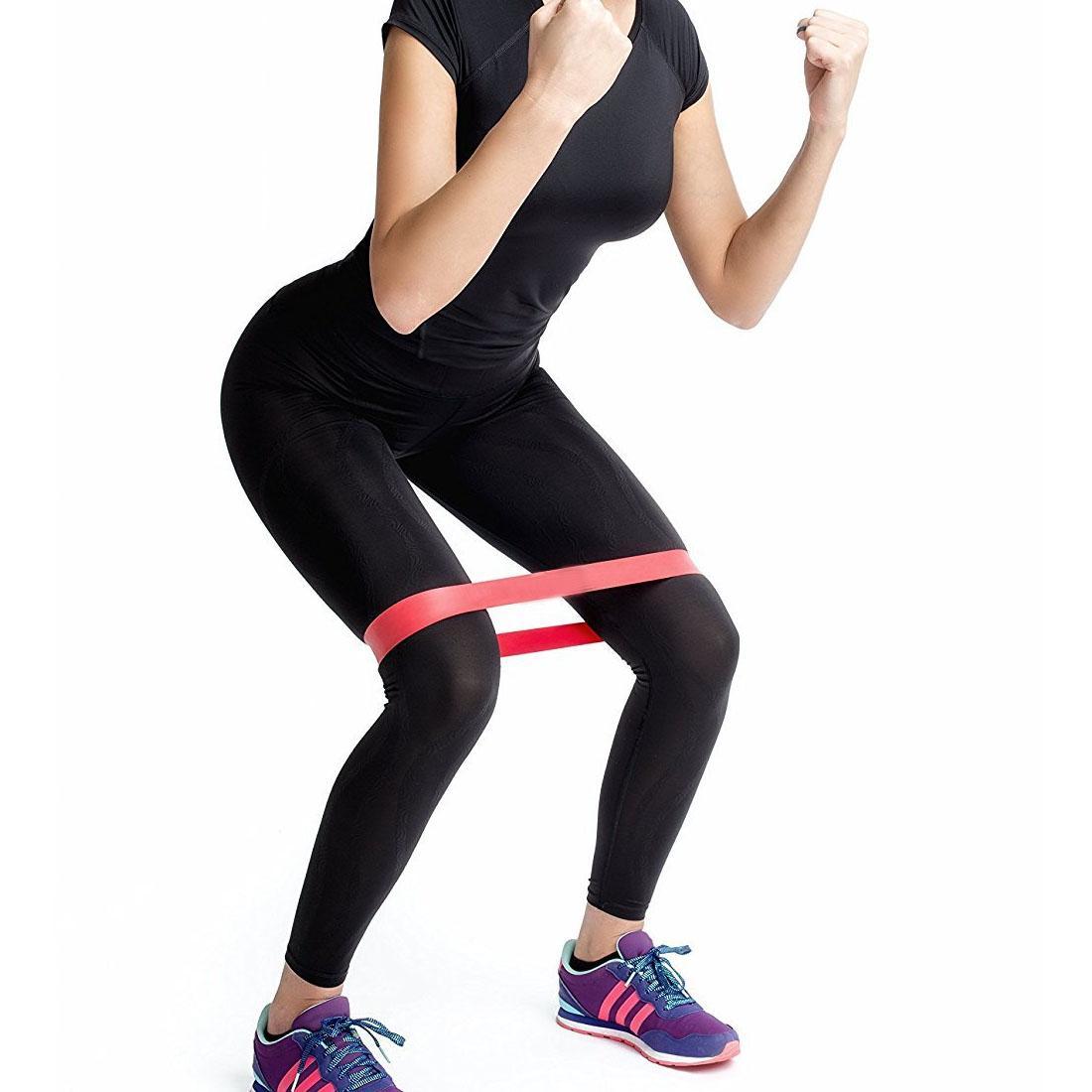 Resistencia Yoga Band Elastic Muscle Fitness Entrenamiento Pilates Bands Entrenamiento Rubber Crossfit Stretching Strap ejercicio equipo